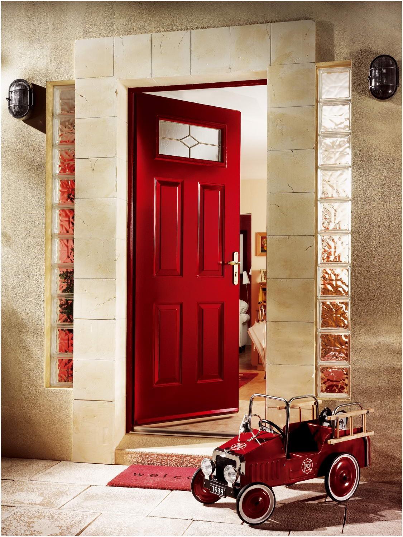 Les portes d'entrée isolées, design de qualité