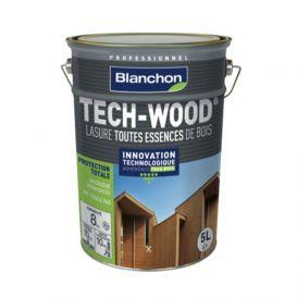 Lasure tech-wood bois extérieurs toutes essences Blanchon