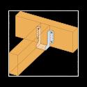 Vis SSH connecteurs acier sur bois