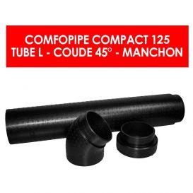 Conduit de ventilation ComfoPipe Compact 125