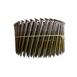 Pointes en rouleaux annelées 16° coils 25/27*55-INOX A2