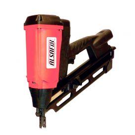 Cloueur gaz 34° D90G2-7.2V2.5Ah pointes 34° de 50 à 90 mm Alsafix