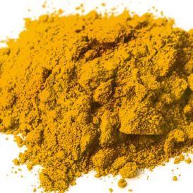 Jaune foncé (oxyde de fer) pigment synthétique