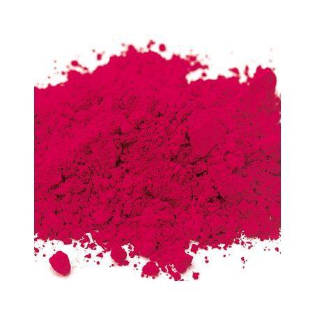 Rouge laqué fuschia pigment organique synthétique
