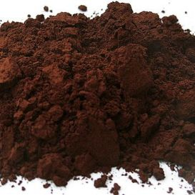 Terre brune pigment naturel