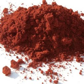 Rouge Hématite pigment naturel