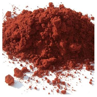 Rouge Hématite pigment naturel