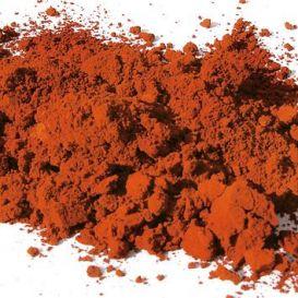 Ocre rouge foncé pigment naturel