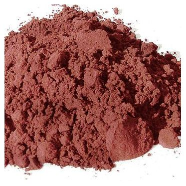 Sienne calcinée pigment naturel