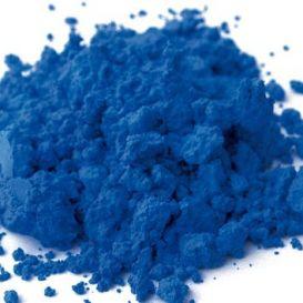Bleu à la chaux pigment naturel