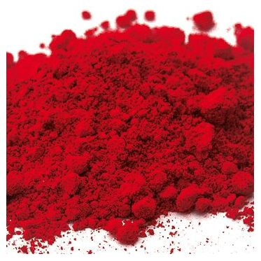 Rouge vermeil déco pigment organique synthétique