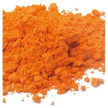 Orange à la chaux pigment naturel