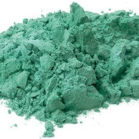 Vert à la chaux pigment naturel