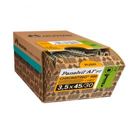Vis Panelvit AF TX 10 à tête fraisé réduite pour parquet bois massif
