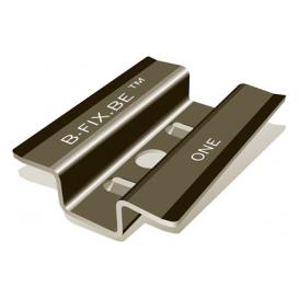 Clip B-fix BlackOne noir mat + vis + embout