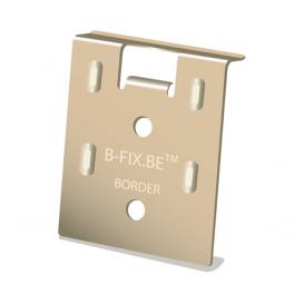 Clip B-fix bordure pour attacher début et fin de lame de terrasse