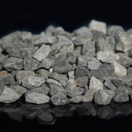 Agrégats décoratifs concassés Basalte Gris Anthracite
