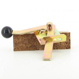 Loquet en métal pour portillon bois