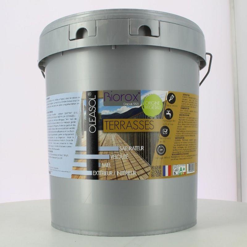Saturateur pour bois extérieurs  Terrasse 15L