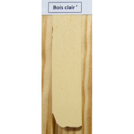 WOOD MASTIC - Mastic de Finitions en Tube ''E800'' bois clair