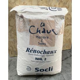 Rénochaux NHL2  chaux hydraulique, Mortiers pour la restauration
