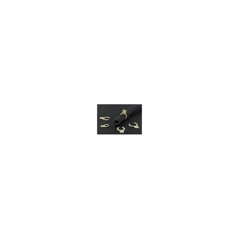 Clips bloquants pour gaine électrique Flex a ray