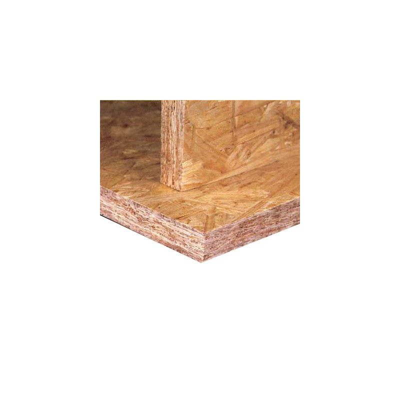 Panneau d 39 osb 3 kronoply bois frais 2800 x 1196 mm ep 9 12 mm - Epaisseur panneau osb ...