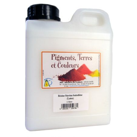 Résine Latex (styrène butadiène)