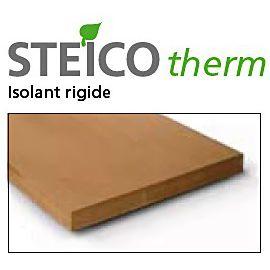 steico therm f panneau fibre de bois rigide pour isolation naturelle haute densit. Black Bedroom Furniture Sets. Home Design Ideas