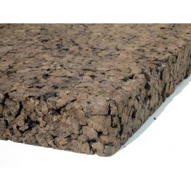 Plaque de liège expansé pur (ACERMI) 120kg/m3
