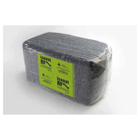 Isonat cotonwool vrac sac de 12,5kg isolant écologique coton