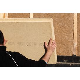 Panneau isolant rigide pare pluie Isonat Duoprotect 180 kg/m³