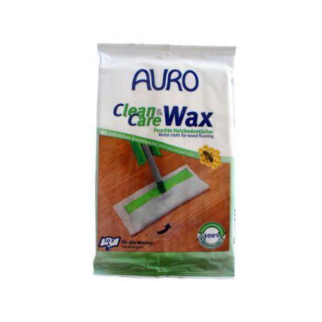 Clean & Care Wax lingette écologique pour plancher bois et meubles