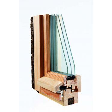 Fenêtre passive en bois Optiwin