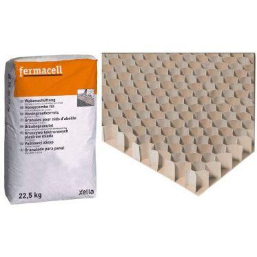 Granulés pour nid d'abeilles Fermacell