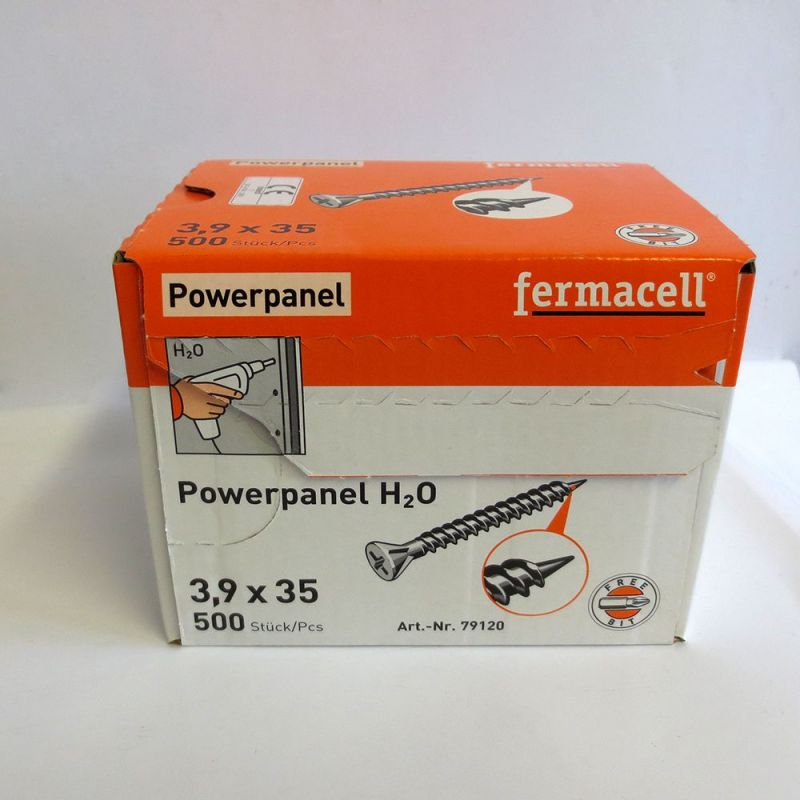 Vis auto perceuse Fermacell plaque H2O