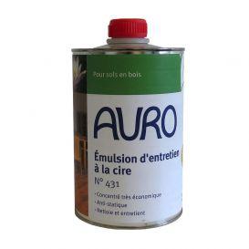 Emulsion d'entretien à la cire naturelle Auro - n°431