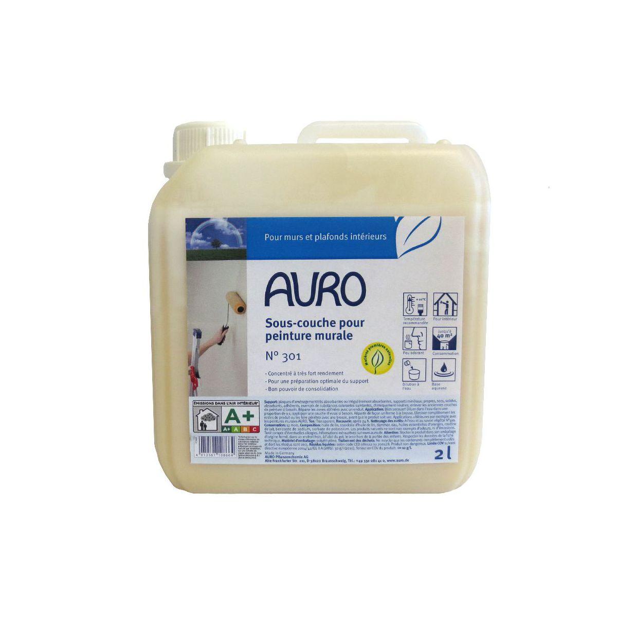 sous couche cologique auro n301 - Primaire D Accrochage Peinture Plafond
