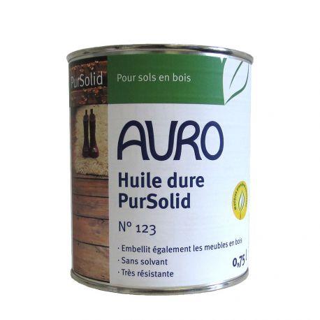 Huile dure Pursolid Auro pour Bois n°123