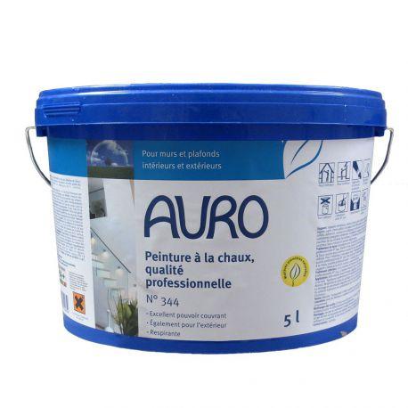 Peinture naturelle à la chaux qualité professionnelle Auro - n°344