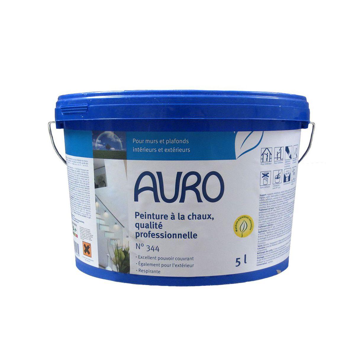 Peinture naturelle la chaux qualit professionnelle auro n 344 for Peinture qualite