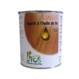 Apprêt à l'huile de lin pour bois absorbants LINUS 260 Livos