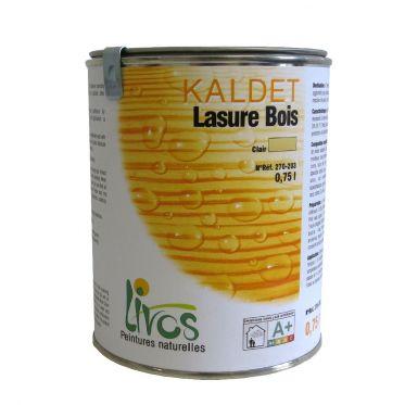 Lasure bois teint e kaldet 270 livos kenzai mat riaux for Lasure bois interieur