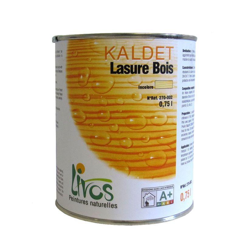Lasure bois incolore kaldet n 270 de livos for Lasure bois interieur
