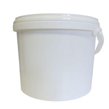 Seau plastique en PP 10L avec couvercle