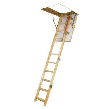 Escalier escamotable avec échelle en bois LWK Komfort Fakro