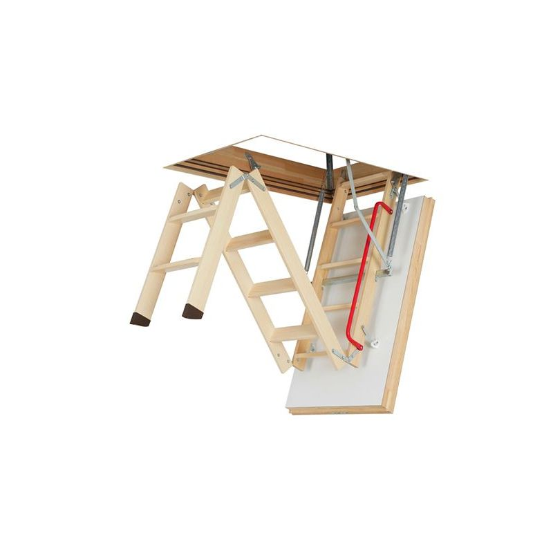 Escalier Escamotable En Bois Fakro Super Thermo Isolant Lwt