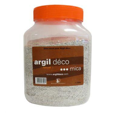 Charges décoratives Mica pour Argil Déco