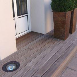 Terrasse en frêne thermo-traité