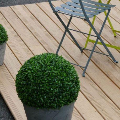 Terrasse chêne naturel